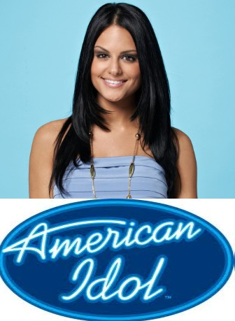 american idol pia toscano images. Pia Toscano off of American