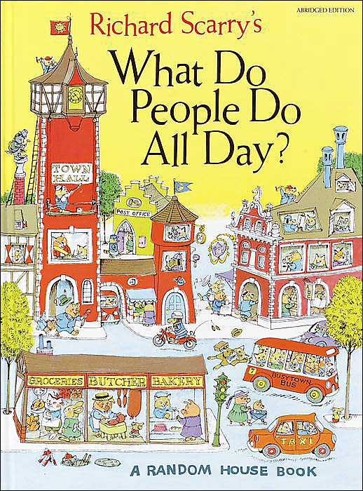 Richard Scarry Birthday, Books